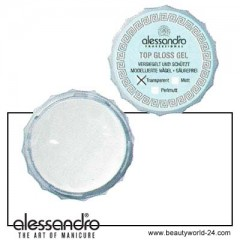 alessandro Top Gloss Gel Pro White 15Gramm