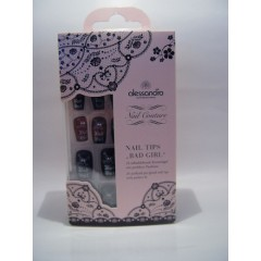 "alessandro Nail Couture Nail Tips ""BAD GIRL"" (12,95€)"