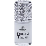 alessandro DREAM POLISH CAVIAR BASE COAT - WHITE CAVIAR OHNE UV 15ml