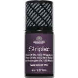 alessandro Striplac Nagellack Limited Edition DARK VIOLET 8ml