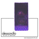 alessandro STILETTO Toe Nail Polish Pearly Violet