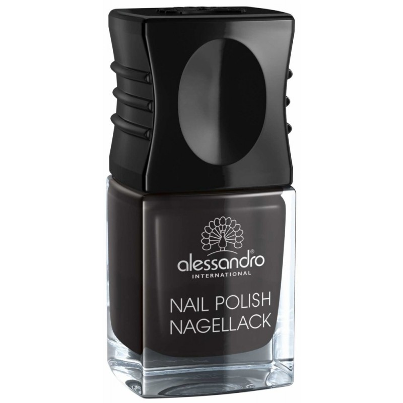alessandro Nagellack MIDNIGHT BLACK 4,5ml