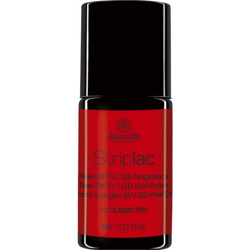 alessandro Striplac Nagellack CLASSIC RED 8ml