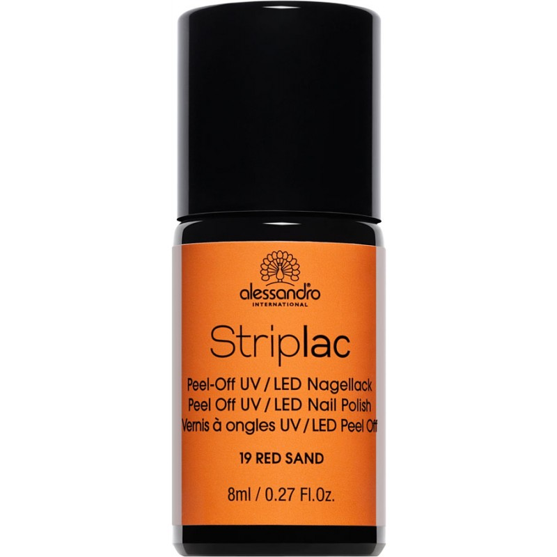 alessandro Striplac Nagellack RED SAND 8ml