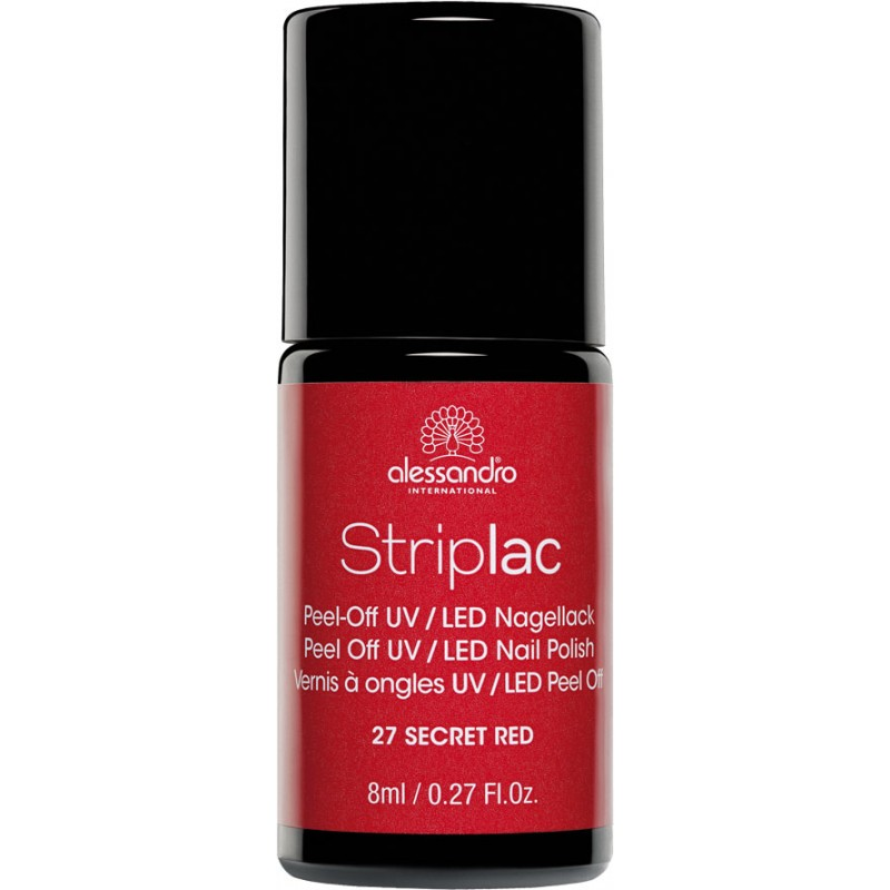 alessandro Striplac Nagellack SECRET RED 8ml
