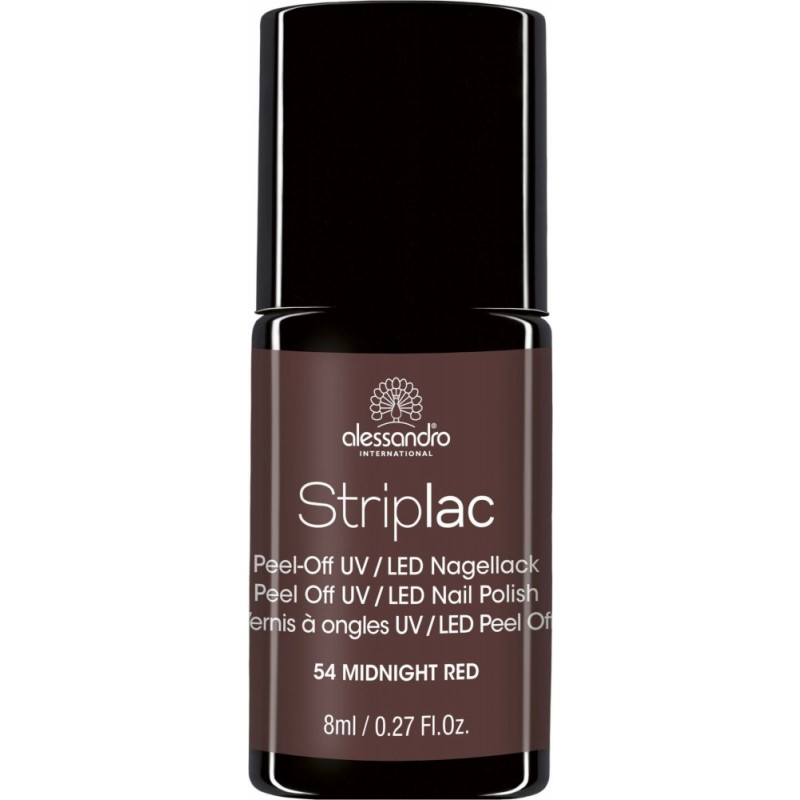 alessandro Striplac Nagellack MIDNIGHT RED 8ml