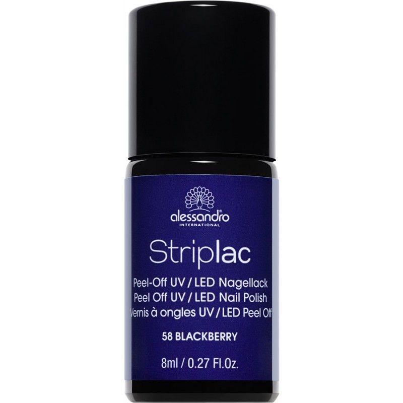 alessandro Striplac Nagellack BLACKBERRY 8ml