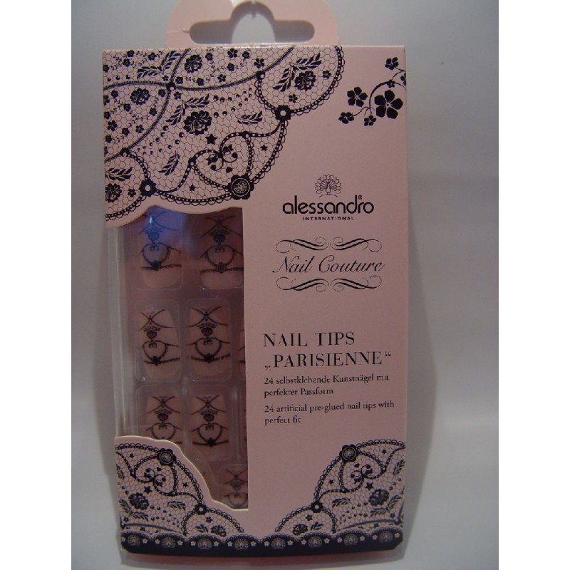 "alessandro Nail Couture Nail Tips ""PARISIENNE"" (12,95€)"